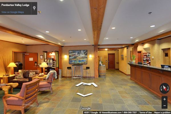 Pemberton Hotel Virtual Tour